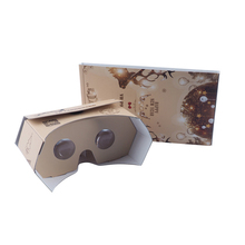 New POP-UP 3d <span class=keywords><strong>vr</strong></span> occhiali V3.0 di realtà virtuale di cartone <span class=keywords><strong>vr</strong></span> viewer cartone google 34mm