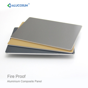 Guaranteed mineral core aluminium composite fireproof panel