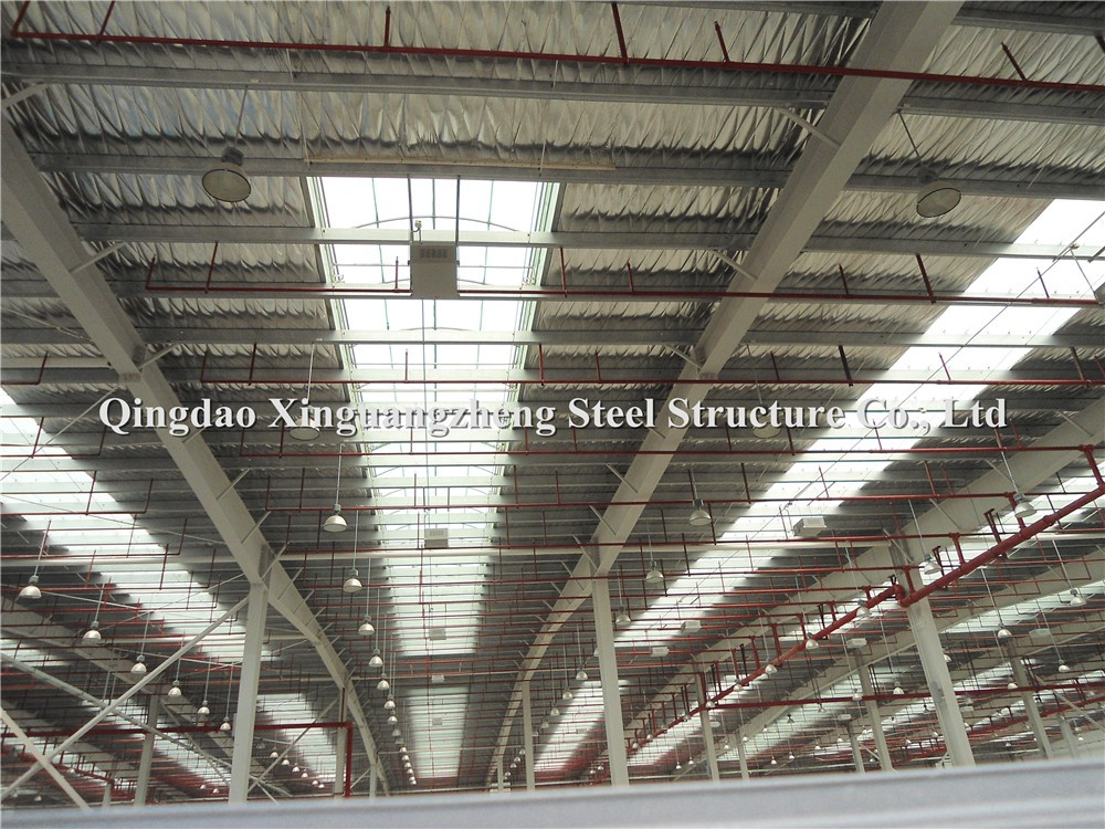 big span precast China steel structure warehouse