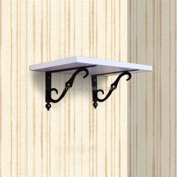 High Quality Wrought Iron Wall Mounted Flower Hanging Brackets