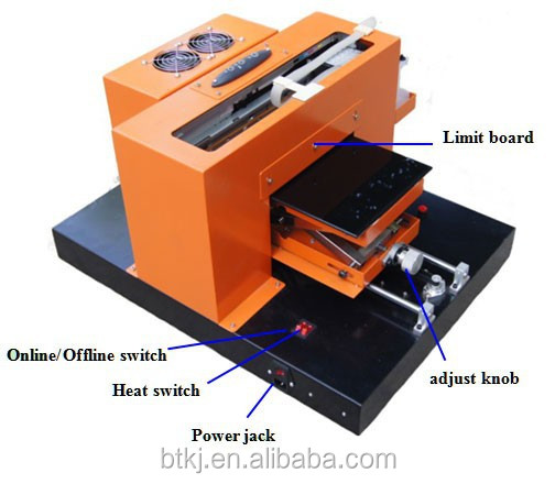 A4 size DTG printer, direct to garment printer, t shirt printing machine