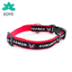 LUVP+K-KUMAMON printing dog collar no bark pet necklace training collar