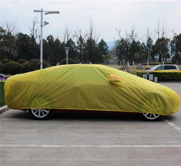 High Quality Car Parking Cover Waterproof Sun Shade UV Protection Heated Car Cover