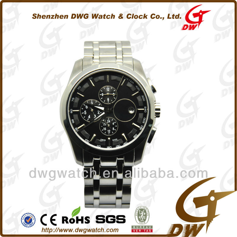 Tourbillon Stainless Steel Oem Watch with 316L Ss