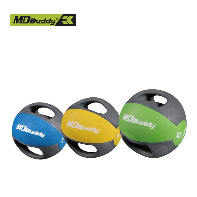 MD Buddy 3 KG Gummi Beschichtet Power Training Grip Medizin Ball