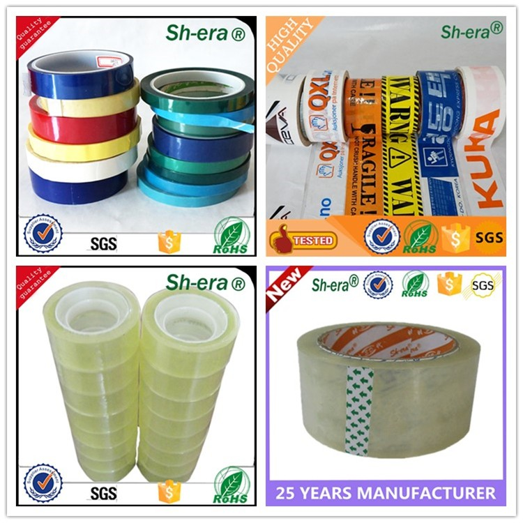 China manufacturer Jumbo roll bopp packing tape sealing tape for carton with best price