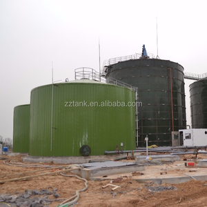 Glass Fusted to Steel Storage Tanks Used in Anaerobic Digester Applications