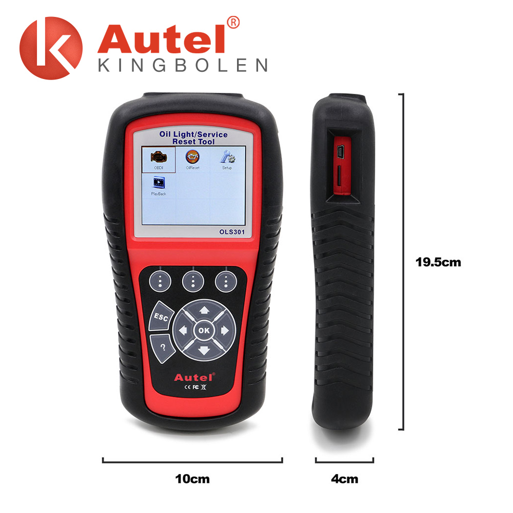 Autel Oil Light Service Reset Tool , diagnostic scanner for Asian, American and European vehicles