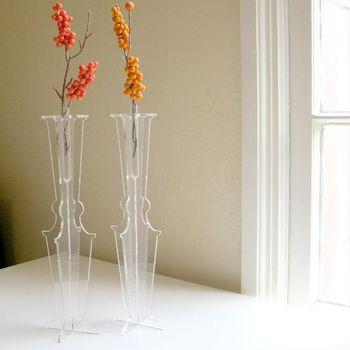 Clear Acrylic Tube Flower Vases Buy Clear Acylic Tube Flower Vases
