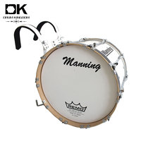 Customized good quality lightweight marching bass drum with carrier