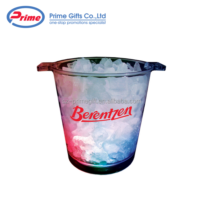 Low Price Guaranteed Quality 5 Liter Light Up LED Plastic Ice Bucket