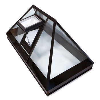 Gaoming Aluminum profile sliding open glass roof tube skylight
