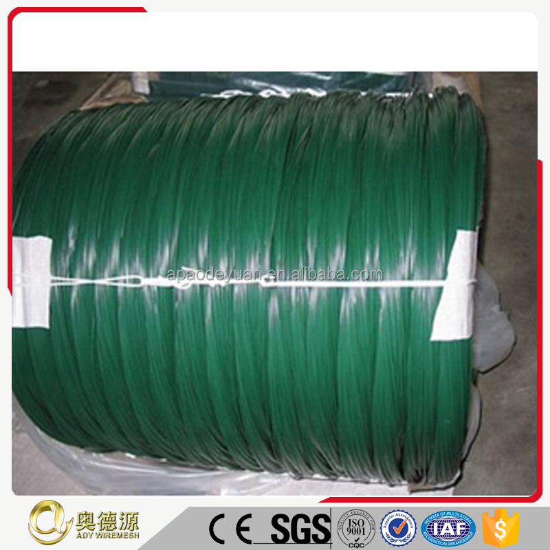 Made in China Plastic coated twist tie wire/PVC coated wire