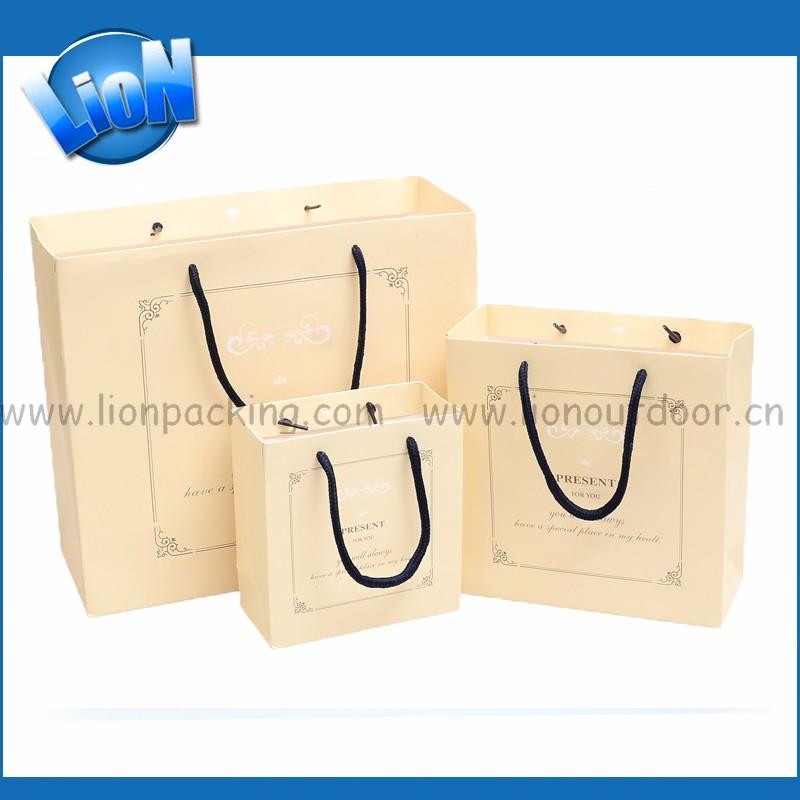 Diy Handle Folding Pocket Paper Gift Bag Bread Sandwich Food Kraft ...