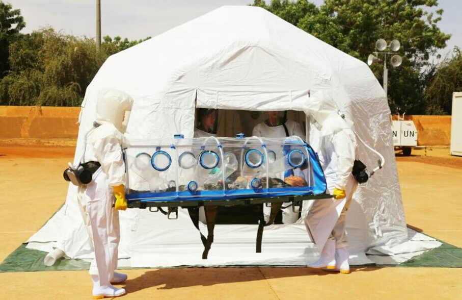 Emergency Biological Isolation Chamber /Negative pressure stretcher to isolation ebola or MERS