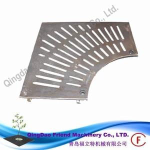 FM-TR-Square Ray 313102- 150-70 cast ductile iron grille guard metal tree grate tree grating price tree guard