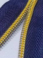 Electro-Plating Nylon Zipper in Roll (nylon zipper, fancy, waterpoof zipper)