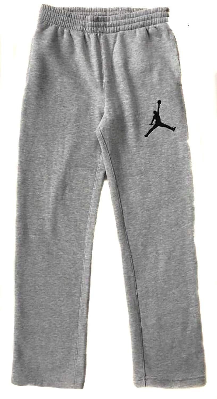 98d70c3b6a3c Get Quotations · Jordan Youth Jumpman Fleece Sweatpants (951618-042) Dark  Grey Heather