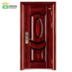 Main house gate door designs steel wood color door front entry doors residential pictures high quality factory price