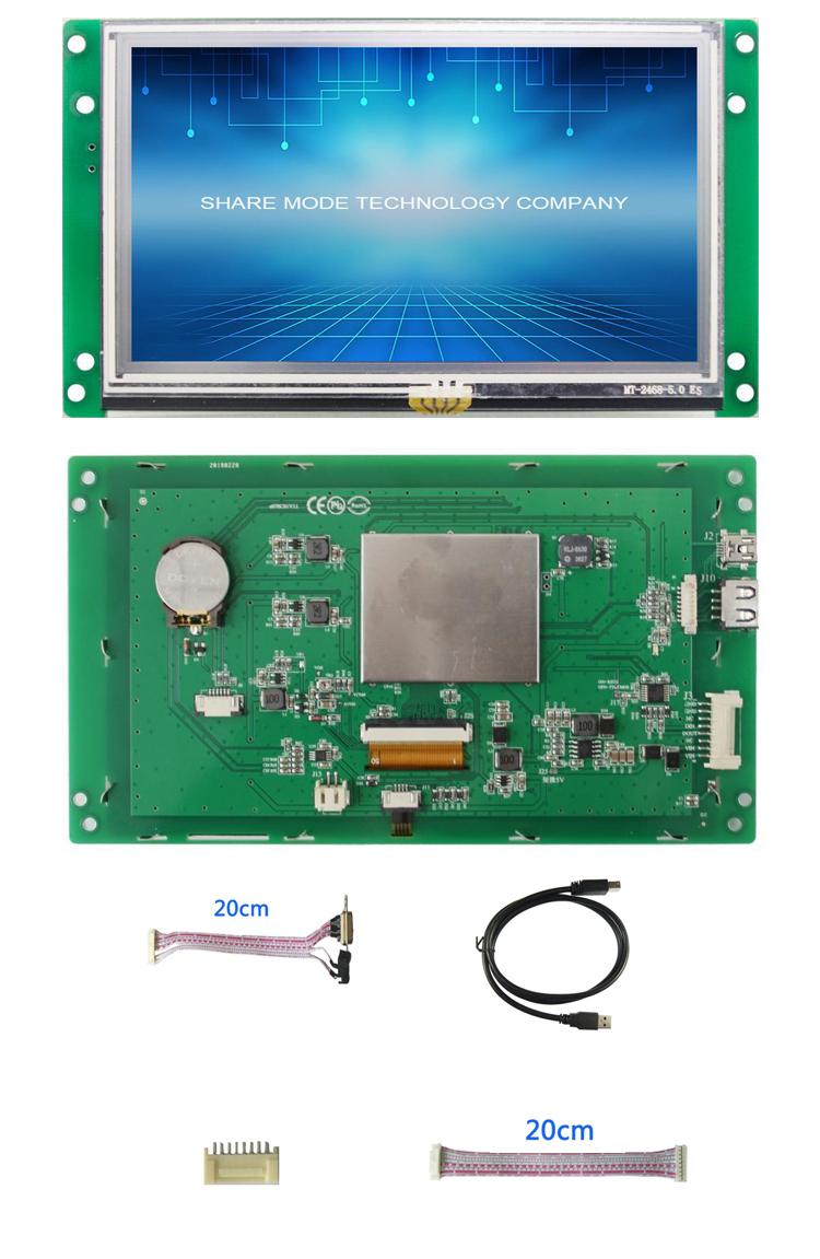 UART interface voor communicatie met controller behulp C code om programma