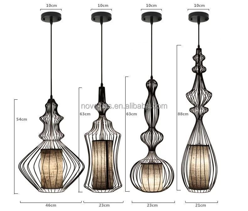 Modern Imperatrice Chandelier Lighting Fixture Pendant Lamp Tibet ...