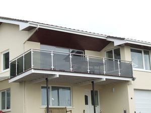 Iron Grill Design For Terrace 316 Stainless Steel Brushed Finish Modern Home Deco Railing Systems