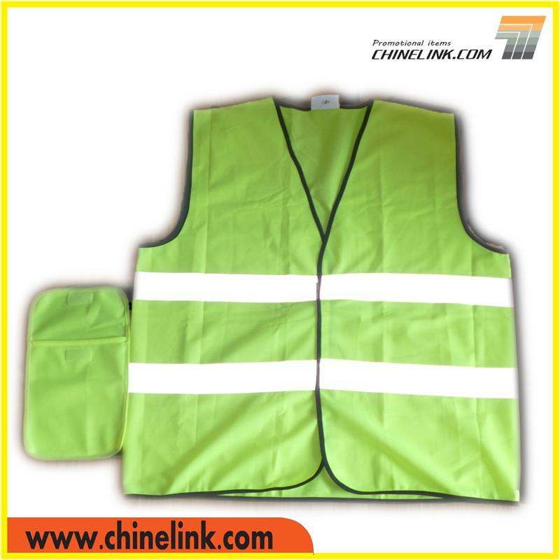 Custom Material Hi-vis Safety Guard Safety Vest Supplier