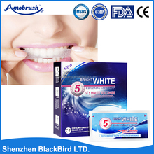 30 min express elastic gel tooth whitening strips/dental oral care whitestrips