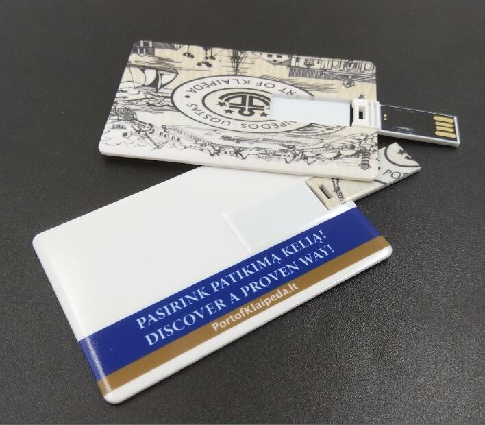 Custom For 4GB 8GB pendrive card/credit card type pen drive/usb memory cards with company LOGO