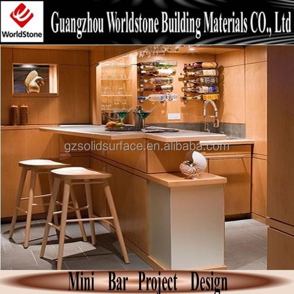 Mini bar kontra minuman bar desain meja bar meja id produk 60113879983 - Mini bar table design ...
