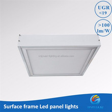 High quality CCT adjustable rgb dimmable led panel light 300x300, 2x4 ceiling down light