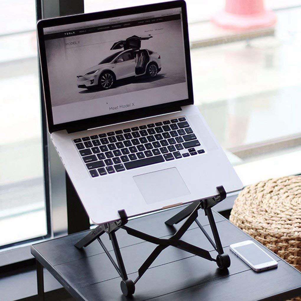 Laptop Stand Folding Portable Adjustable Lapdesk offic Computer Desk Ergonomic Notebook Stand