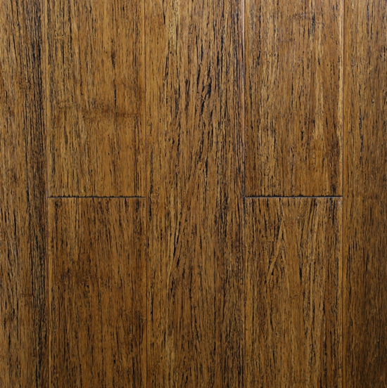 Interested carbonized black based strand woven bamboo flooring