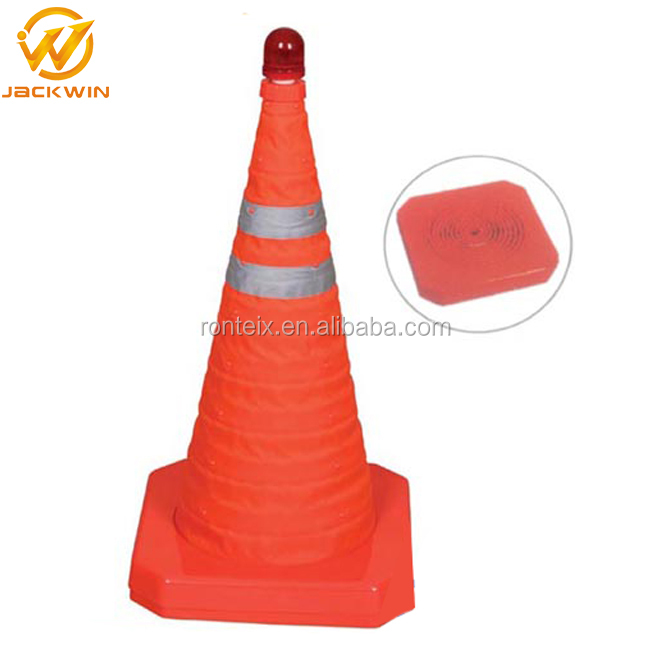 China Supplier ABS Plastic Retractable Traffic Safety Cone