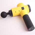 Massage Gun,Yellow , Pure Wave Massager to Massage Different Parts of The Body