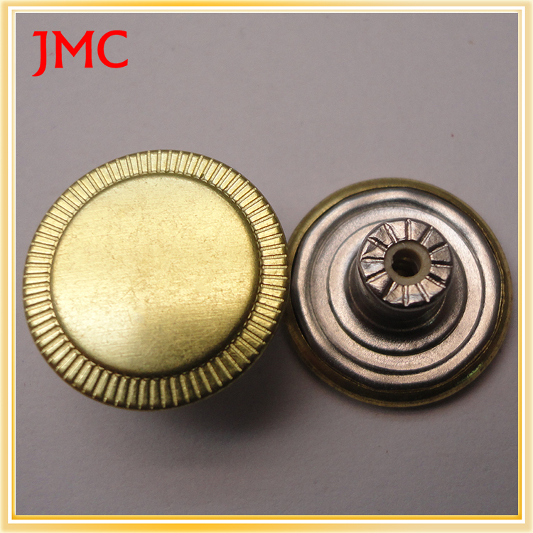 garment accessories gold snap buttons used jeans for sale