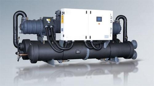 Refrigerador industrial refrigerado por agua industrial - Bomba de calor aire agua precio ...
