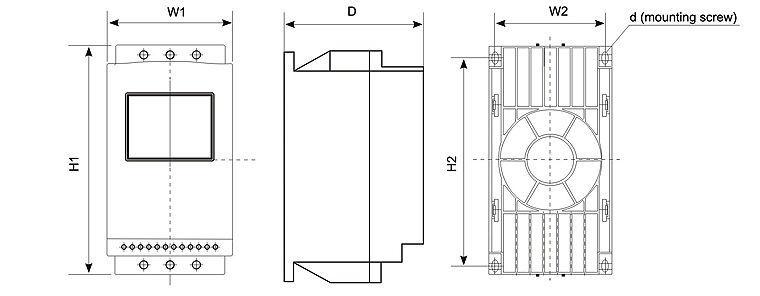 soft starter for electric motors ajr3