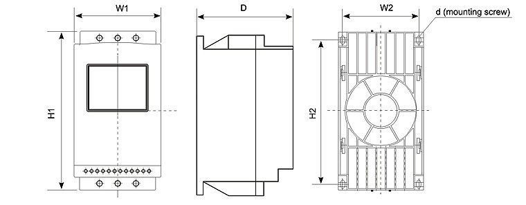 Andeli Soft Starter For Motor Ajr3 Series