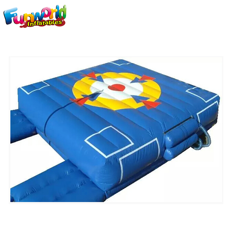 Good quality inflatable air bag jumping Stunt Jump