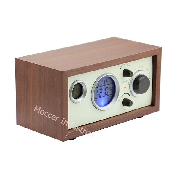 family and hotel Tabletop digital alarm clock bedroom Retro Radio. Family And Hotel Tabletop Digital Alarm Clock Bedroom Retro Radio