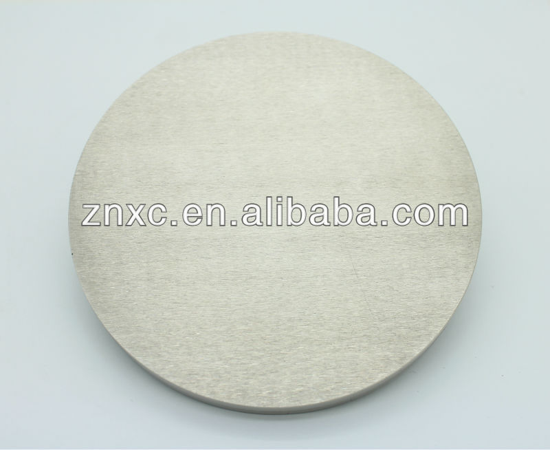 LED materials Nickel iron alloy sputtering target