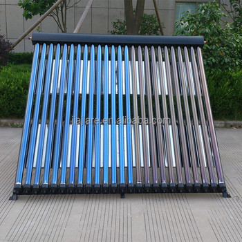 Supper homemade heat pipe solar thermal collector for solar water heating system
