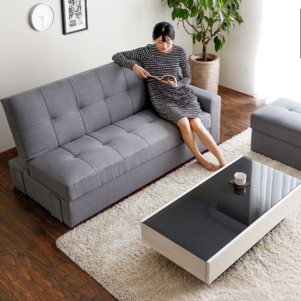 Perfect Low Price Living Room Nordic Fabric Japan Sofa Bed Good Looking