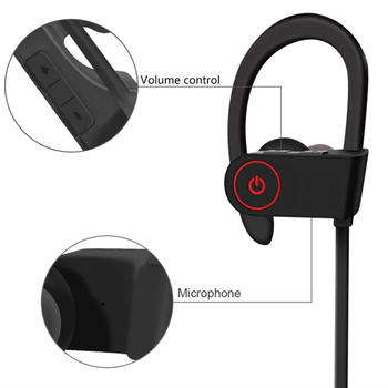 Amazon Hot selling tws earbuds noise cancelling earphones wireless blue tooth music stereo sports earphone