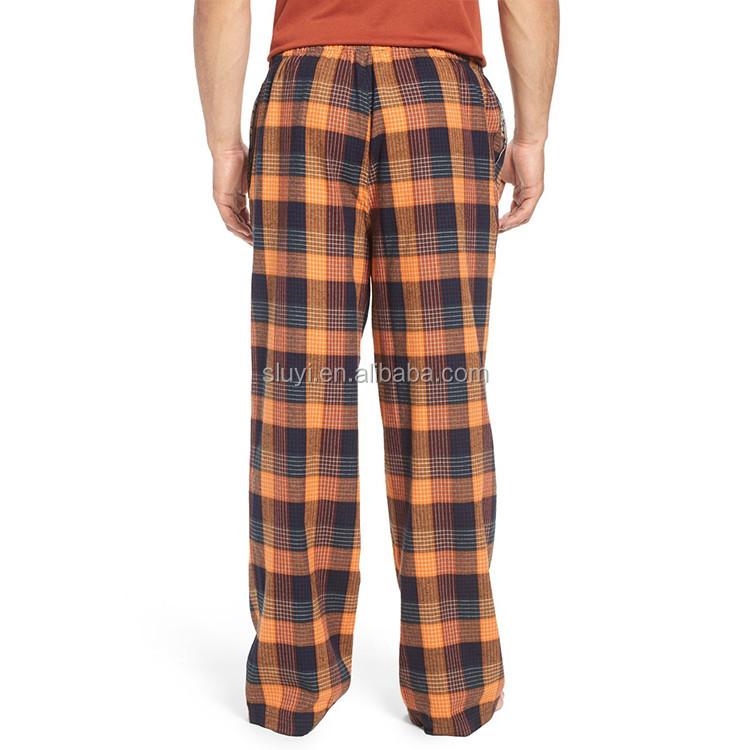 Plus Size Plaid Pajama Pants Wholesale Adult Sexy Men's Nightwear ...