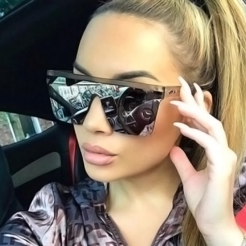 wholesale unisex good quality plastic sun <strong>shades</strong> trendy big square glasses <strong>custom</strong> logo fashion oversized sunglasses women men
