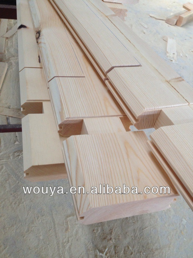 best selling russian wood prefabricated wood house promotion