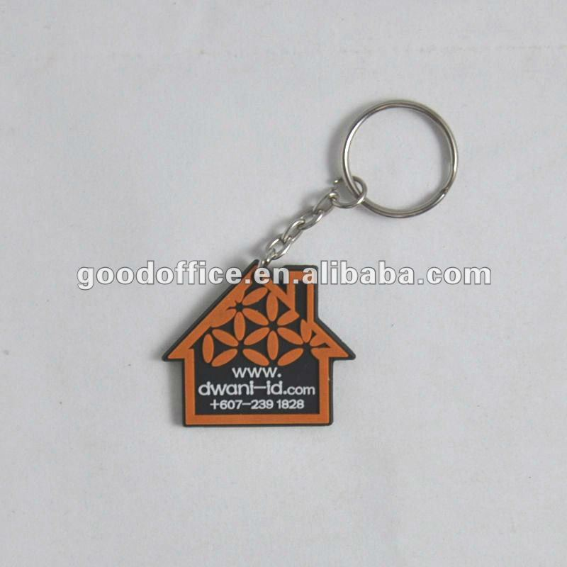 Guangzhou factory production Advertising Specialty fashion beautiful 3D/2D Sportbag soft pvc pendant /pvc cute key chain
