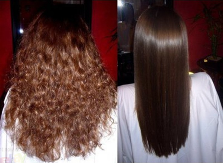 Inoar Brazilian Keratin Treatment Hair Straightening Oil Keratin